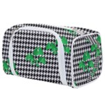 Houndstooth Leaf Toiletries Pouch