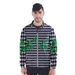 Houndstooth Leaf Men s Windbreaker