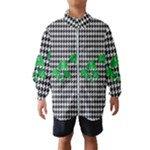 Houndstooth Leaf Kids  Windbreaker