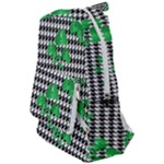 Houndstooth Leaf Travelers  Backpack