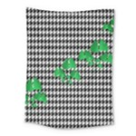 Houndstooth Leaf Medium Tapestry