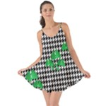 Houndstooth Leaf Love the Sun Cover Up