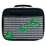 Houndstooth Leaf Lunch Bag