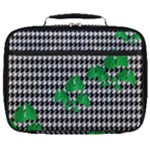 Houndstooth Leaf Full Print Lunch Bag