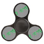 Houndstooth Leaf Finger Spinner