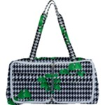 Houndstooth Leaf Multi Function Bag