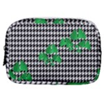 Houndstooth Leaf Make Up Pouch (Small)