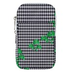 Houndstooth Leaf Waist Pouch (Small)