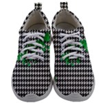 Houndstooth Leaf Mens Athletic Shoes