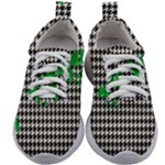 Houndstooth Leaf Kids Athletic Shoes