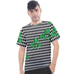Houndstooth Leaf Men s Sport Top
