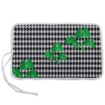 Houndstooth Leaf Pen Storage Case (M)