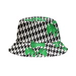Houndstooth Leaf Bucket Hat