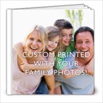 8x8  Personalized Photo Book (24+ pages)