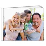 9x7  Personalized Photo Book (24+ pages)