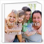 12x12  Personalized Photo Book (22+ pages)