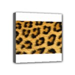 Leopard Print	 Mini Canvas 4  x 4  (Stretched)