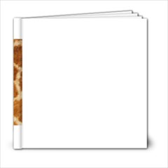 Giraffe Print	6x6 Photo Book (20 pages) from ArtsNow.com