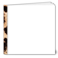 Giraffe Print Dark	8x8 Deluxe Photo Book (20 pages) from ArtsNow.com