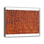 Crocodile Print	Canvas 10  x 8  (Stretched)