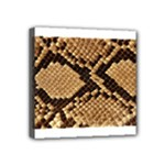 Snake Print Big	 Mini Canvas 4  x 4  (Stretched)