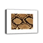 Snake Print Big	Mini Canvas 7  x 5  (Stretched)