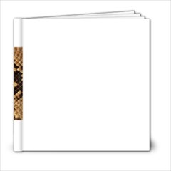 Snake Print Big	6x6 Photo Book (20 pages) from ArtsNow.com