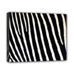 Zebra Print	Canvas 10  x 8  (Stretched)