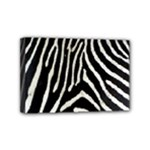 Zebra Print Big	Mini Canvas 6  x 4  (Stretched)