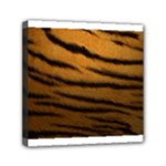 Tiger Print Dark	Mini Canvas 6  x 6  (Stretched)