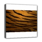 Tiger Print Dark	Mini Canvas 8  x 8  (Stretched)