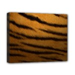 Tiger Print Dark	Canvas 10  x 8  (Stretched)