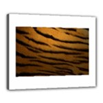 Tiger Print Dark	Canvas 20  x 16  (Stretched)