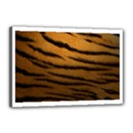 Tiger Print Dark	Canvas 18  x 12  (Stretched)
