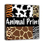 Animal Print	Mini Canvas 8  x 8  (Stretched)