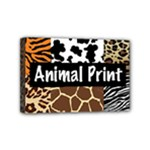 Animal Print	Mini Canvas 6  x 4  (Stretched)