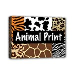 Animal Print	Mini Canvas 7  x 5  (Stretched)