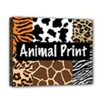 Animal Print	Canvas 10  x 8  (Stretched)