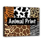 Animal Print	Canvas 14  x 11  (Stretched)