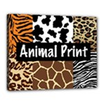 Animal Print	Canvas 20  x 16  (Stretched)