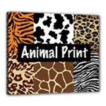 Animal Print	Canvas 24  x 20  (Stretched)