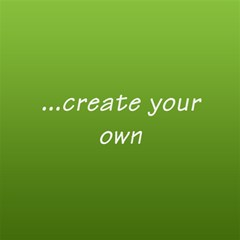 green box create your own