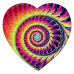 Fractal34 Jigsaw Puzzle (Heart)