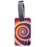 Fractal34 Luggage Tag (two sides)