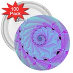 Fractal34 3  Button (100 pack)