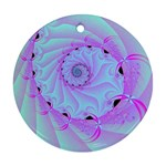 Fractal34 Round Ornament (Two Sides)