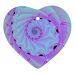 Fractal34 Heart Ornament (Two Sides)