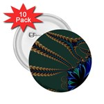 Fractal34 2.25  Button (10 pack)