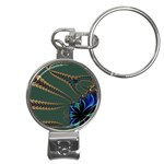 Fractal34 Nail Clippers Key Chain