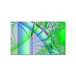 Fractal34 Sticker Rectangular (10 pack)